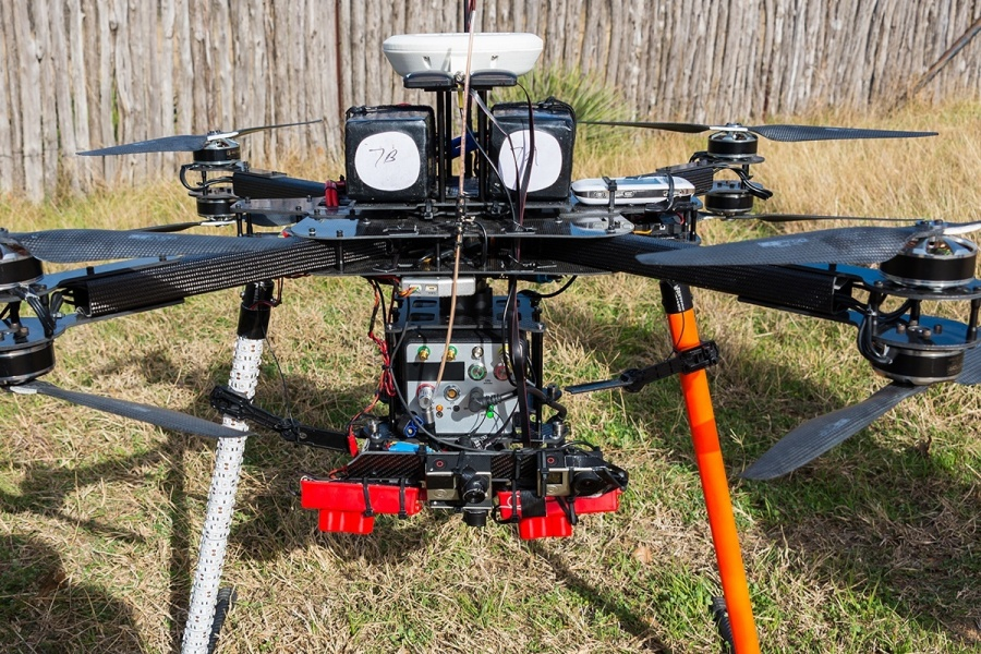 A $200,000 power line inspection drone