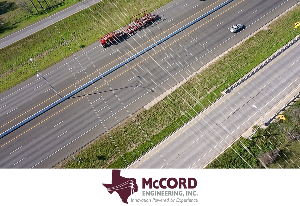 Interstate 35 aerial photograph