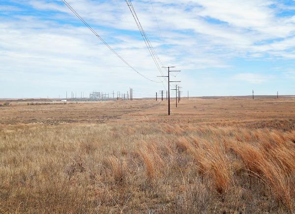 Power line in Amarillo, TX